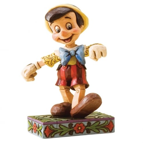 Lively Step Pinocchio Figurine