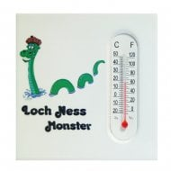 Loch Ness Monster Magnet With Thermometer