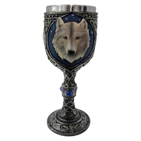Nemesis Now Lone Wolf Goblet 19.5cm