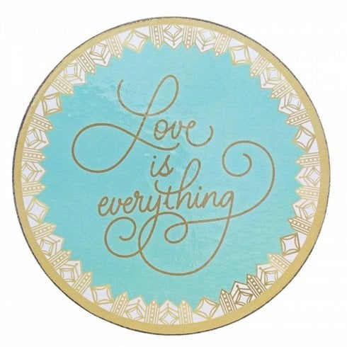 Love Always Collection Love Is Everything Coasters Set of 4