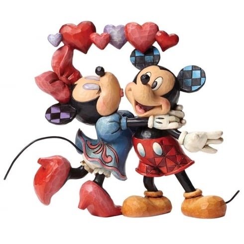 Disney Traditions Love Is In The Air (Mickey and Minnie Mouse)