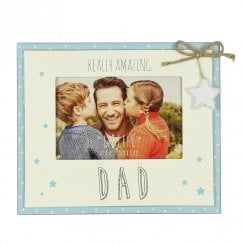 Love Life Amazing Dad 6 x 4 Photo Frame