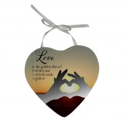 Love Mirror Plaque