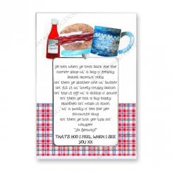 Love Notes - Bacon Rolls Scottish Card