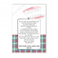 Love Notes - Dentists Chair Scottish Card