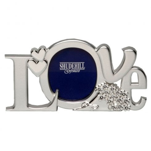 Shudehill Giftware Love Photo Frame