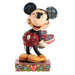 Love Struck Mickey Mouse Figurine