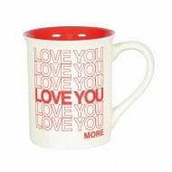 Love You Type Mug
