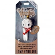 Love Your Job Voodoo Keyring