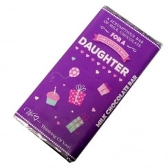 Lovely Daughter Milk Chocolate Bar