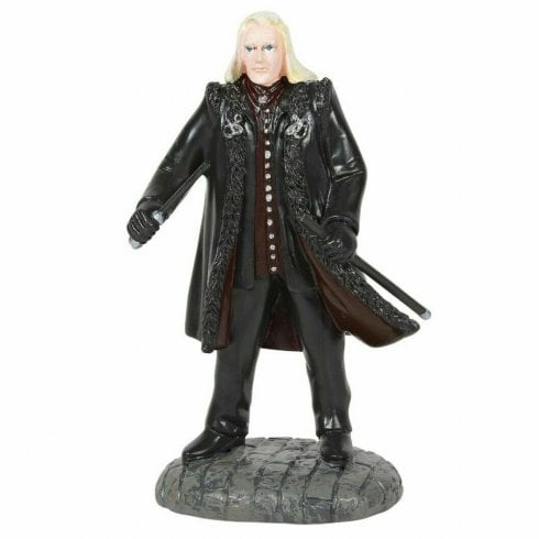Harry Potter Village by Dept 56 Lucius Malfoy Figurine