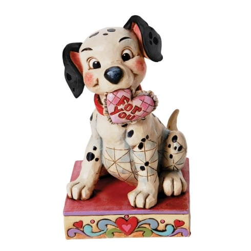 "Disney Traditions Lucky Figurine ""Lucky In Love"""