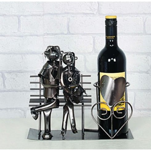 Flame Homeware Lucy and Lee Lovers Bottle Holder