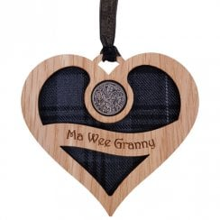 Ma Wee Granny - Heart Lucky Sixpence