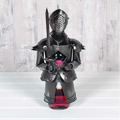 Flame Homeware Mac The Knight Bottle Holder