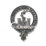 MacDonald (of Clanranald) Clan Crest Key Fob
