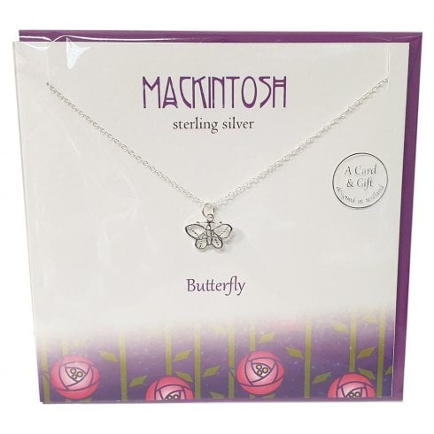 The Silver Studio Mackintosh Butterfly Pendant