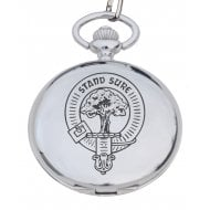 MacLellan Clan Crest Pocket Watch
