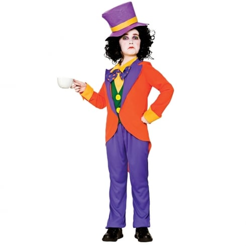 Wicked Costumes Mad Hatter (8-10) Large