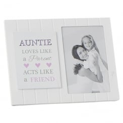 Madison Style Auntie 4 x 6 MDF Photo Frame