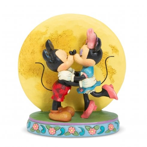 Disney Traditions Magic and Moonlight Mickey and Minnie