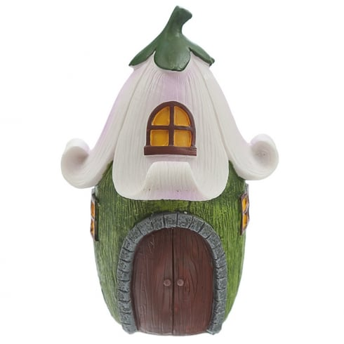 Puckator Magical Forest Fairy Purple Flower Fairy House