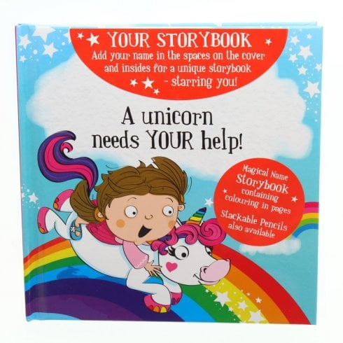 History & Heraldry Magical Name Storybook - A Unicorn Needs Your Help