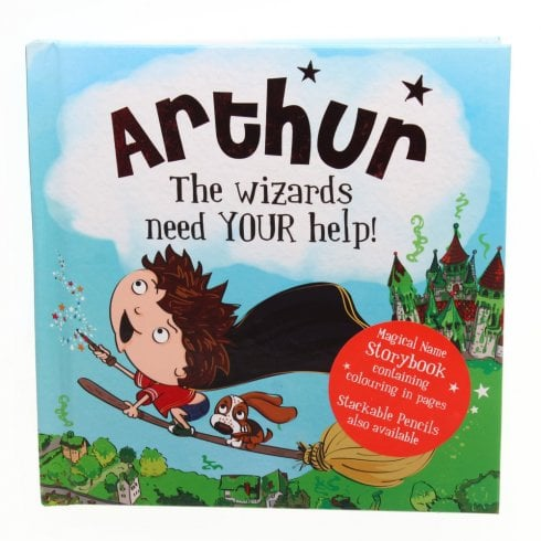 History & Heraldry Magical Name Storybook - Arthur
