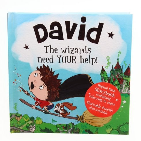History & Heraldry Magical Name Storybook David