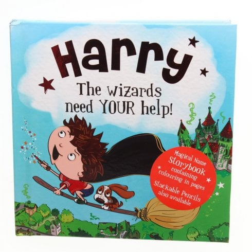 History & Heraldry Magical Name Storybook - Harry