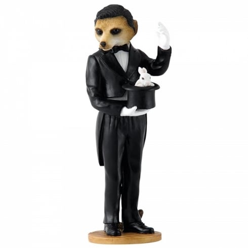 Country Artists Magician Meercat Figurine