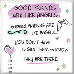 Magnet - Good Friends Are Like Angels