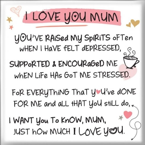 WPL Magnet - I Love You Mum