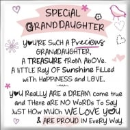 Magnet - Special Granddaughter