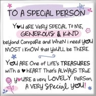 Magnet - To A Special Person