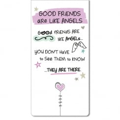 Magnetic Bookmark - Good Friends Are Like Angels