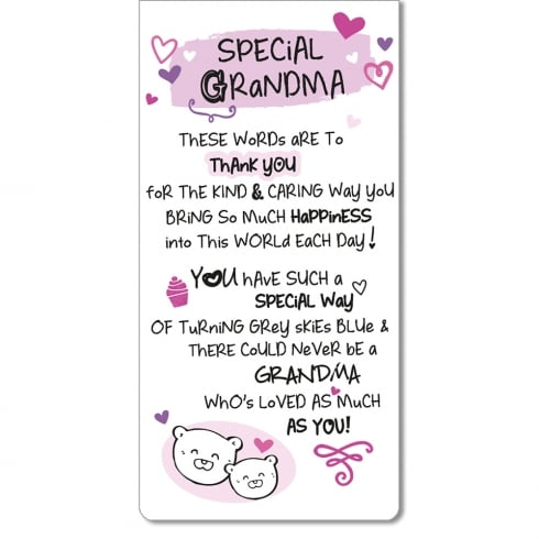 WPL Magnetic Bookmark - Special Grandma