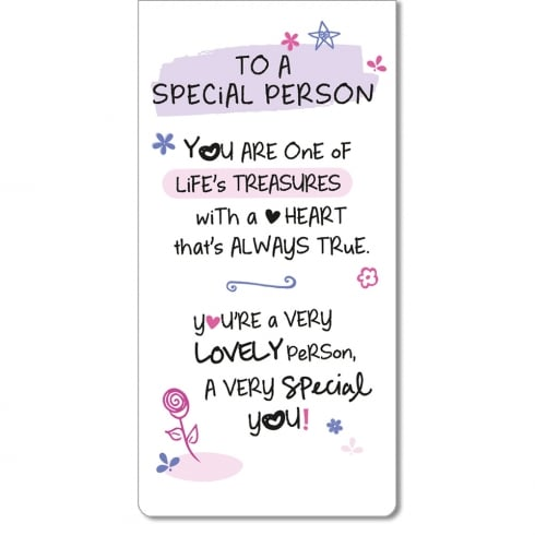 WPL Magnetic Bookmark - To A Special Person