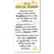Magnetic Bookmark - To A Special Reader