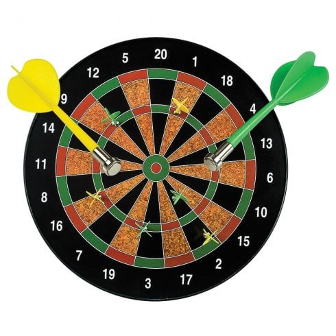 Funtime Magnetic Darts Dartboard Game