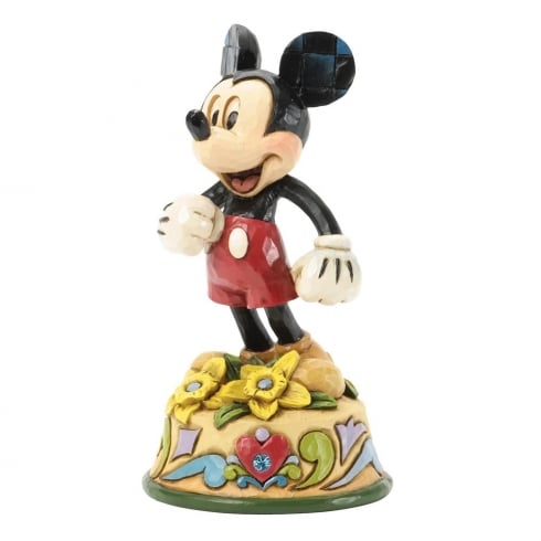 Disney Traditions March Mickey Mouse Figurine