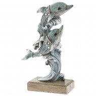 Marine Art Dolphin Couple Small