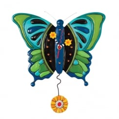 Mariposa Butterfly Wall Clock