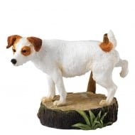 Marking His Territory Jack Russell Figurine
