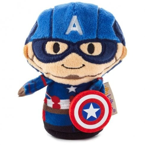 Hallmark Itty Bittys Marvel Captain America (Second in Series)