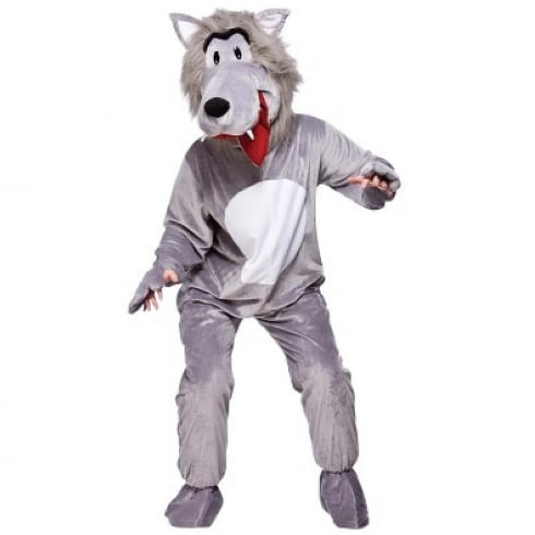 Wicked Costumes Mascot-Big Bad Wolf