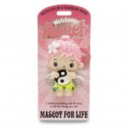 Mascot For Life Angel Keyring