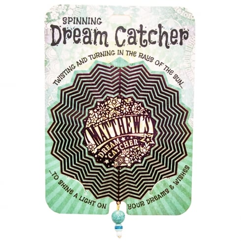 Mathew Spinning Dream Catcher
