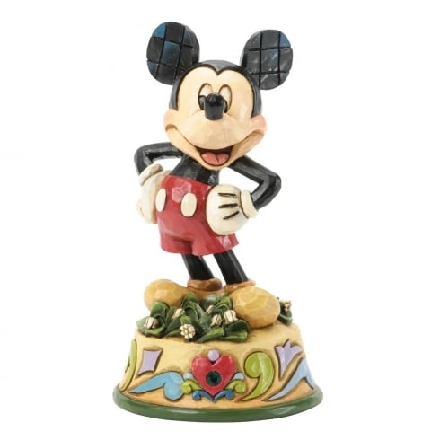 Disney Traditions May Mickey Mouse Figurine
