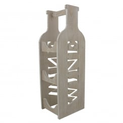 MDF Bottle Shaped Wine Rack